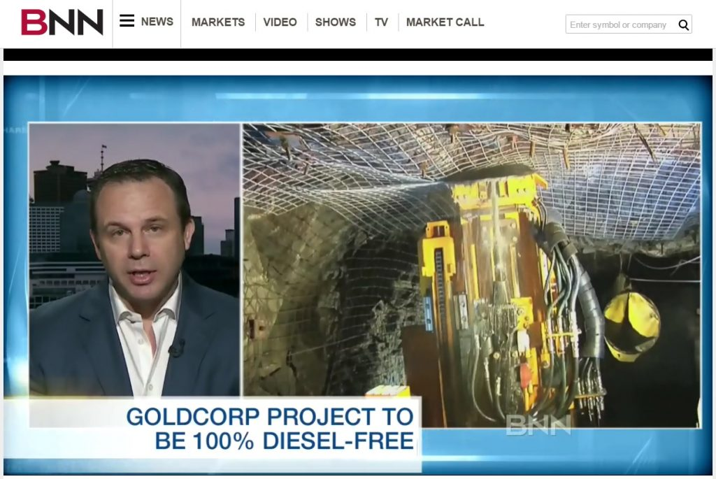 Goldcorp Diesel Free BNN November 2016