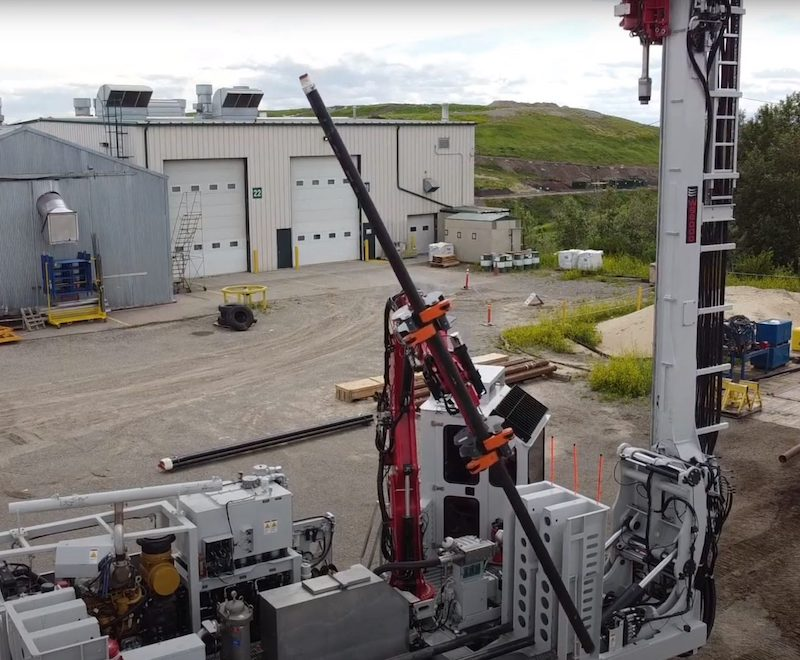 An overhead picture of The WS6000 onsite