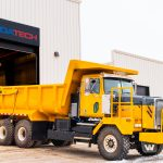 A picture of MEDATechs 24 Ton All Electric Haul Truck