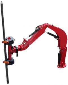 Image of the Borterra-RodBot™ holding up a metal pipe
