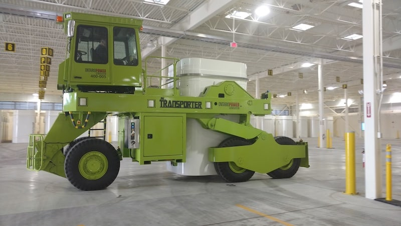A side view image of the Lift King. MEDATech's hydraulic system design services were leveraged for the analysis in this project