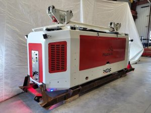 A picture of a Torex ALTDRive with its panel closed. Designed by MEDATech a mechanical engineering company