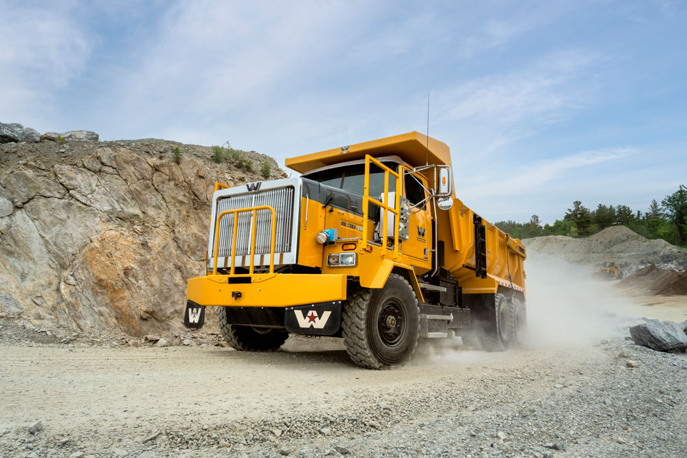 Large mining truck vehicle as an example of equipment that can be electrified by MEDATech